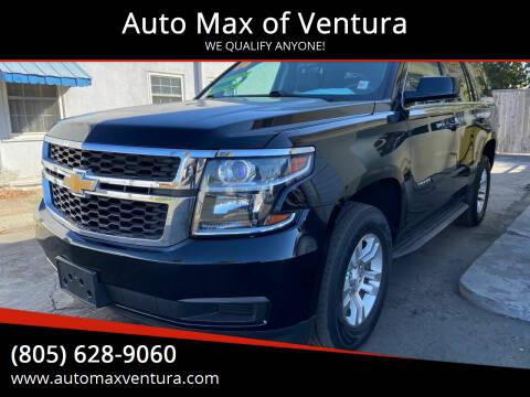 2016 Chevrolet Tahoe for sale at Auto Max of Ventura in Ventura CA