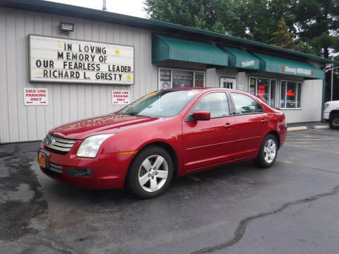 2009 Ford Fusion for sale at GRESTY AUTO SALES in Loves Park IL