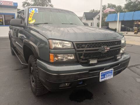 2006 Chevrolet Silverado 1500 for sale at GREAT DEALS ON WHEELS in Michigan City IN
