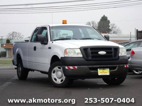 2006 Ford F-150 for sale at AK Motors in Tacoma WA