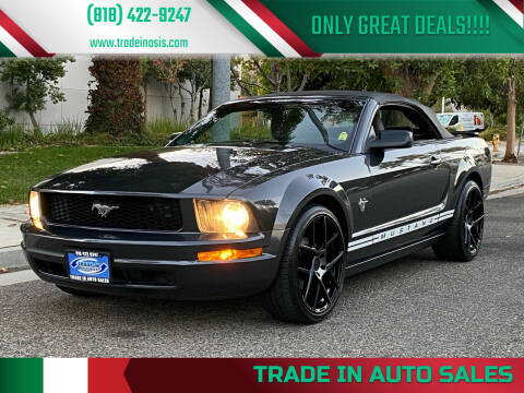 2009 Ford Mustang for sale at Trade In Auto Sales in Van Nuys CA
