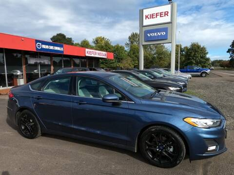 2019 Ford Fusion for sale at Kiefer Nissan Budget Lot in Albany OR