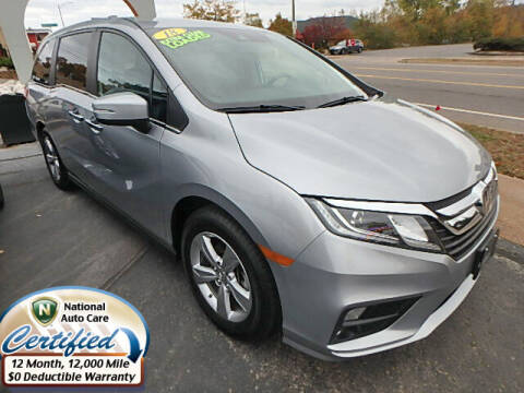 2018 Honda Odyssey for sale at Jon's Auto in Marquette MI