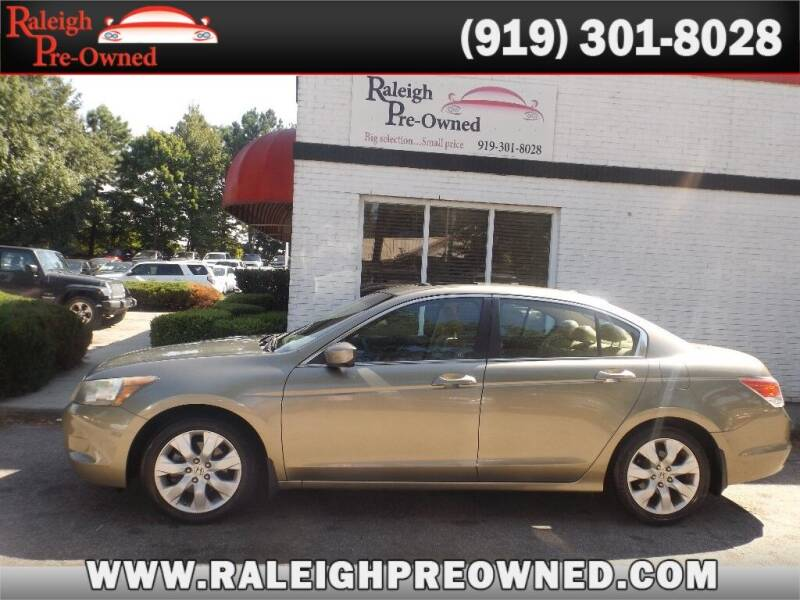 2010 Honda Accord for sale at Raleigh Pre-Owned in Raleigh NC