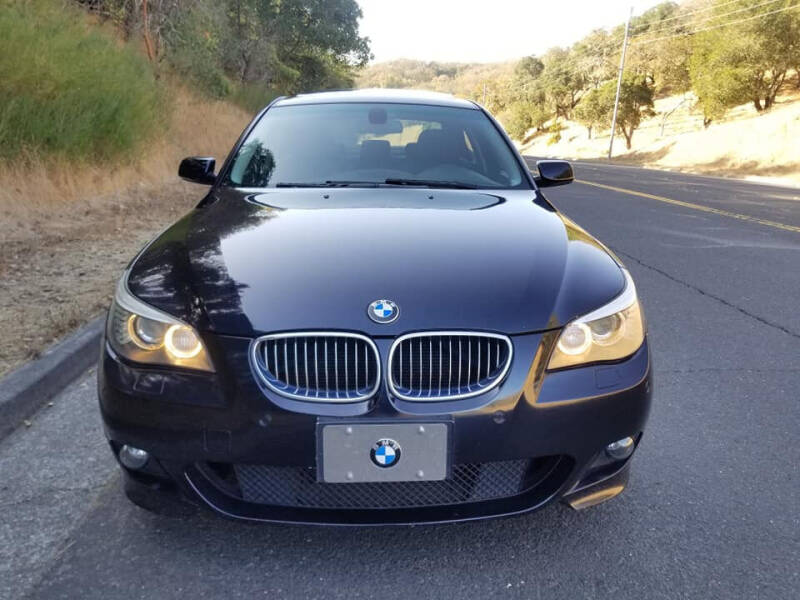 2008 BMW 5 Series for sale at Top Speed Auto Sales in Fremont CA