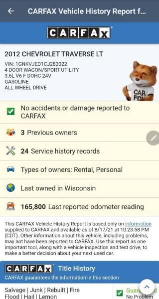 2012 Chevrolet Traverse for sale at Advantage Auto Sales & Imports Inc in Loves Park IL