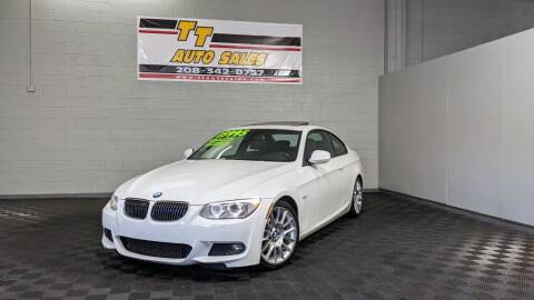 2013 BMW 3 Series for sale at TT Auto Sales LLC. in Boise ID