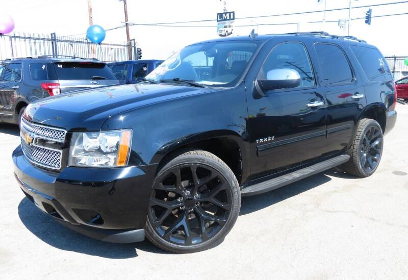 2013 Chevrolet Tahoe for sale at Luxor Motors Inc in Pacoima CA