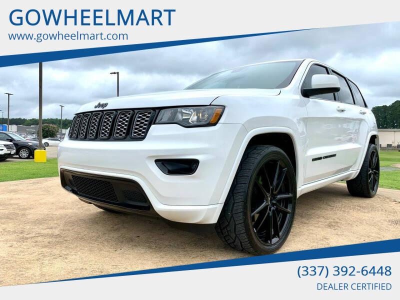 2019 Jeep Grand Cherokee for sale at GOWHEELMART in Leesville LA
