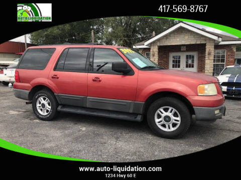 2003 Ford Expedition for sale at Auto Liquidation in Springfield MO