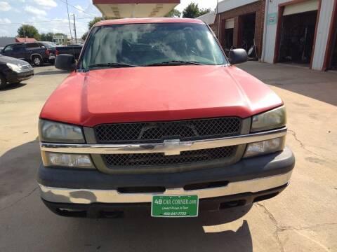 2005 Chevrolet Silverado 1500 for sale at 4 B CAR CORNER in Anadarko OK