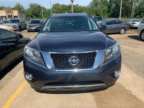 2013 Nissan Pathfinder for sale at 1st Stop Auto in Houston TX