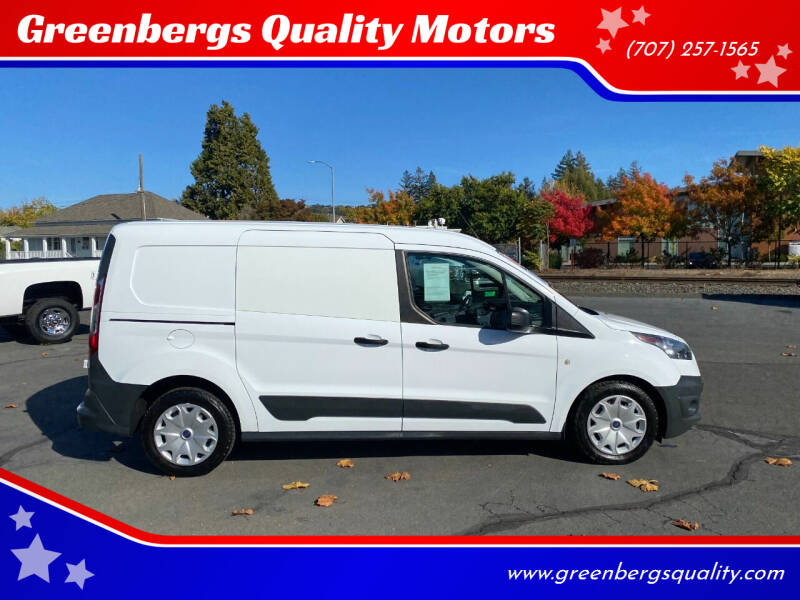 2016 Ford Transit Connect Cargo for sale at Greenbergs Quality Motors in Napa CA