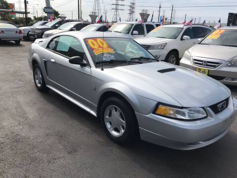2000 Ford Mustang for sale at Texas 1 Auto Finance in Kemah TX