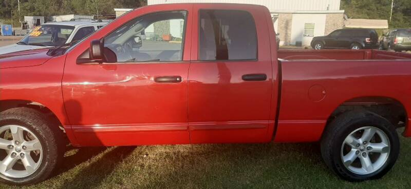 2006 Dodge Ram Pickup 1500 for sale at Page Used Cars in Muskogee OK