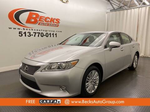 2014 Lexus ES 350 for sale at Becks Auto Group in Mason OH