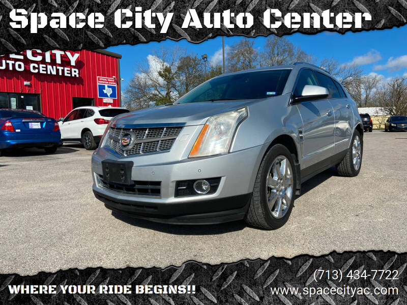 2011 Cadillac SRX for sale at Space City Auto Center in Houston TX