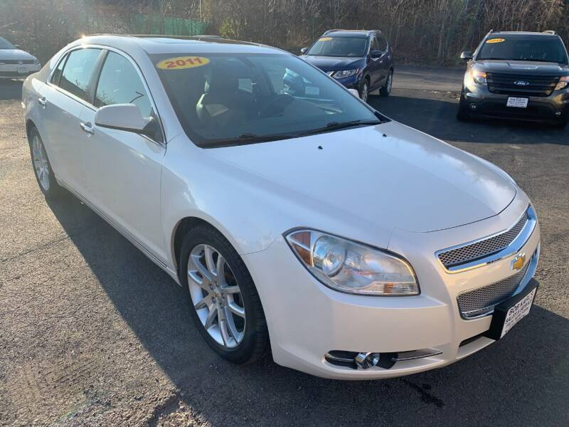 2011 Chevrolet Malibu for sale at Bob Karl's Sales & Service in Troy NY