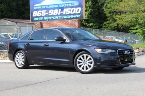 2014 Audi A6 for sale at Skyline Motors in Louisville TN
