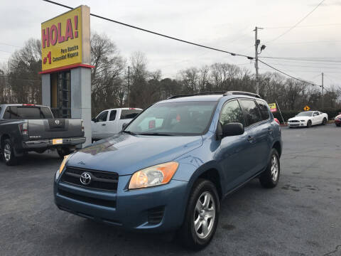 2009 Toyota RAV4 for sale at No Full Coverage Auto Sales in Austell GA