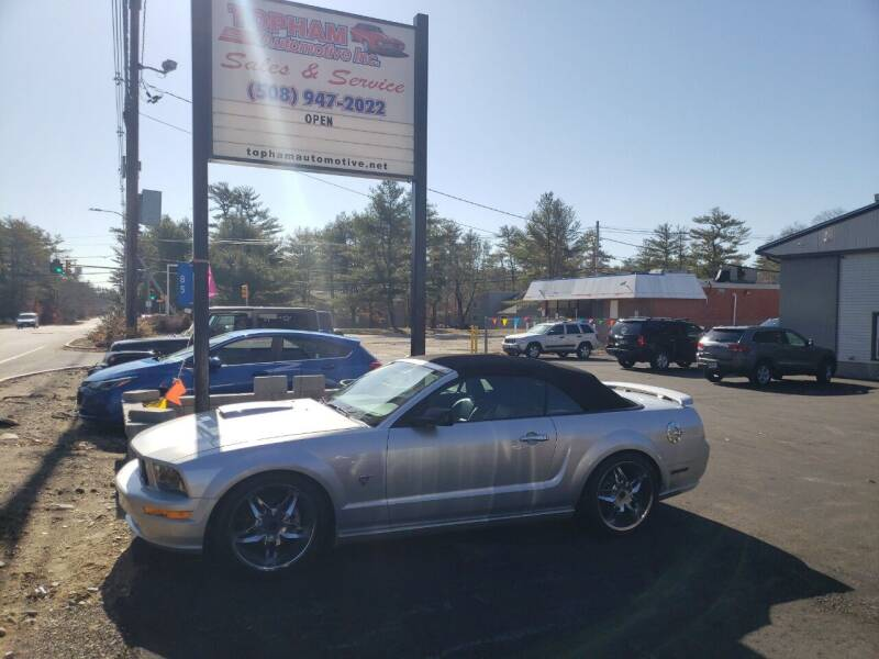 2009 Ford Mustang for sale at Topham Automotive Inc. in Middleboro MA
