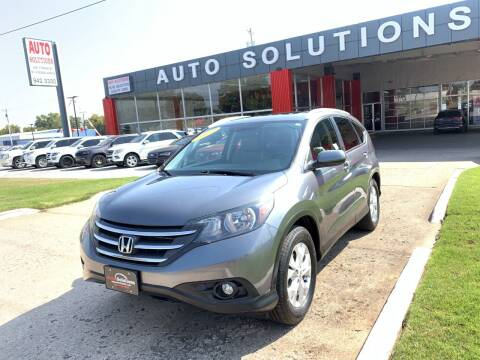 2012 Honda CR-V for sale at Auto Solutions in Warr Acres OK
