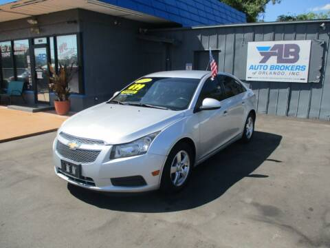 2014 Chevrolet Cruze for sale at AUTO BROKERS OF ORLANDO in Orlando FL