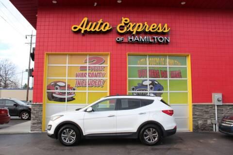 2013 Hyundai Santa Fe Sport for sale at AUTO EXPRESS OF HAMILTON LLC in Hamilton OH