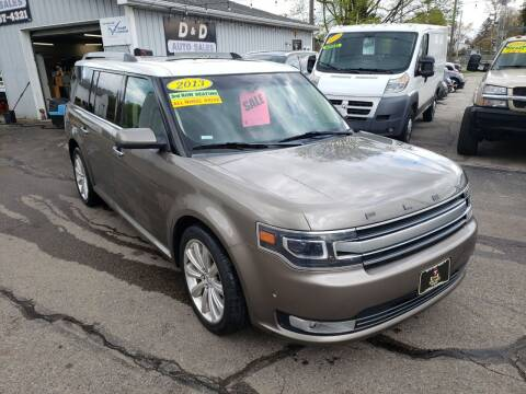 2013 Ford Flex for sale at D & D Auto Sales Of Onsted in Onsted   Brooklyn MI