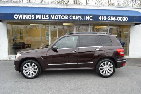 2012 Mercedes-Benz GLK for sale at Owings Mills Motor Cars in Owings Mills MD