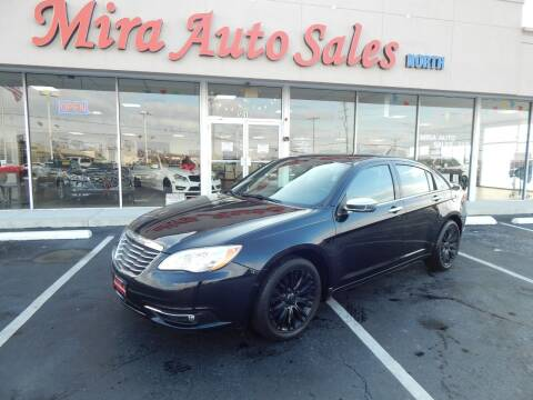 2012 Chrysler 200 for sale at Mira Auto Sales in Dayton OH