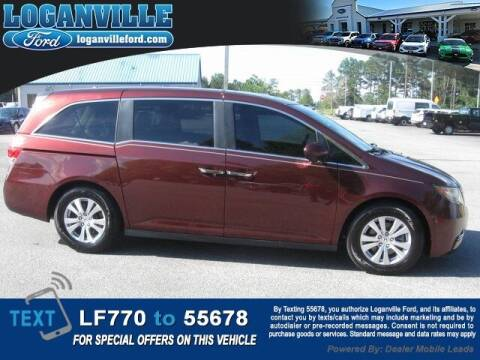 2016 Honda Odyssey for sale at Loganville Quick Lane and Tire Center in Loganville GA