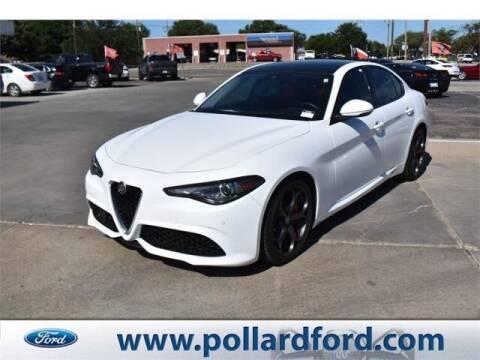 2018 Alfa Romeo Giulia for sale at South Plains Autoplex by RANDY BUCHANAN in Lubbock TX