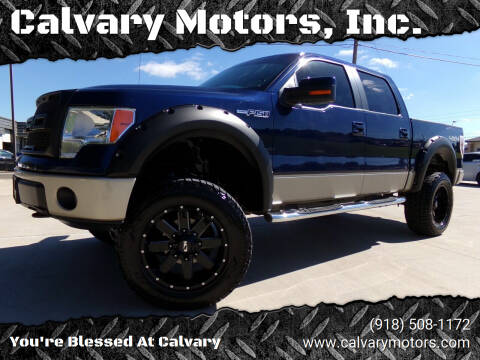 2009 Ford F-150 for sale at Calvary Motors, Inc. in Bixby OK