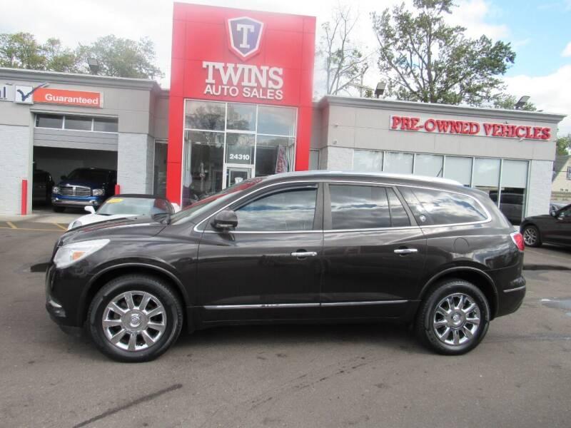 2014 Buick Enclave for sale at Twins Auto Sales Inc in Detroit MI