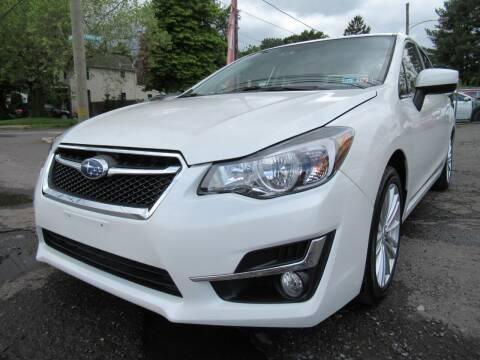 2016 Subaru Impreza for sale at PRESTIGE IMPORT AUTO SALES in Morrisville PA