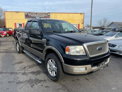 2004 Ford F-150 for sale at Virginia Auto Mall in Woodford VA