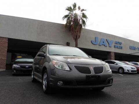 2007 Pontiac Vibe for sale at Jay Auto Sales in Tucson AZ
