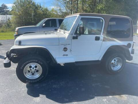 1998 Jeep Wrangler for sale at AUTO LANE INC in Henrico NC