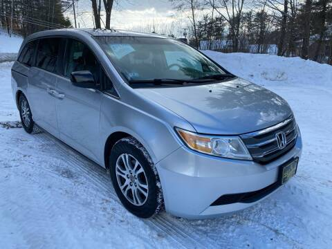 2012 Honda Odyssey for sale at Bladecki Auto in Belmont NH