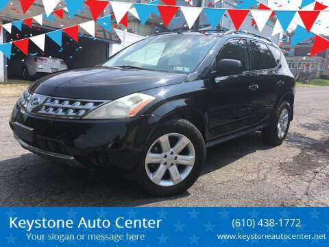 2006 Nissan Murano for sale at Keystone Auto Center LLC in Allentown PA