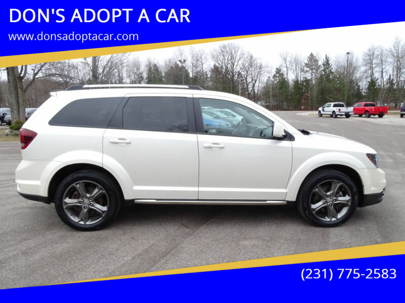 2017 Dodge Journey for sale at DON'S ADOPT A CAR in Cadillac MI