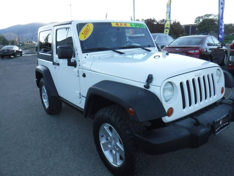 2007 Jeep Wrangler for sale at Budget Auto Sales in Carson City NV