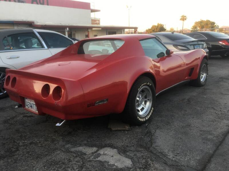 1975 Chevrolet Corvette for sale at Moody's Auto Connection LLC in Henderson NV