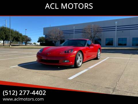 2008 Chevrolet Corvette for sale at ACL MOTORS in Austin TX