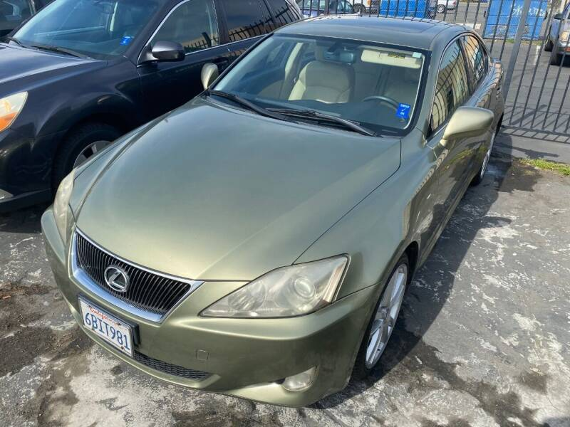 2007 Lexus IS 250 for sale at 101 Auto Sales in Sacramento CA