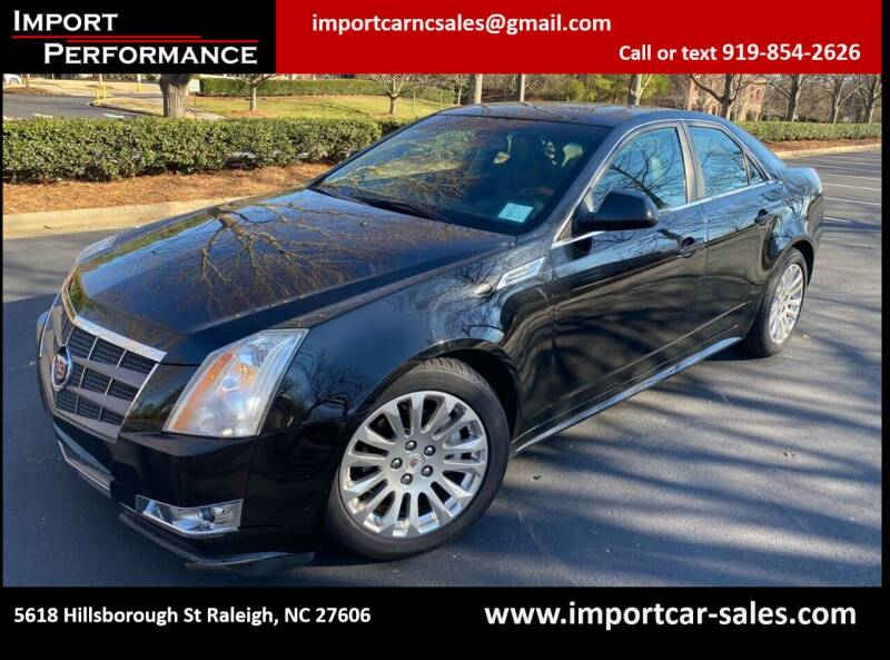 2010 Cadillac CTS for sale at Import Performance Sales in Raleigh NC