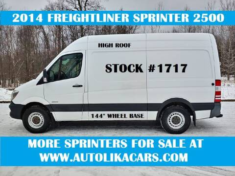 2014 Freightliner Sprinter Cargo for sale at Autolika Cars LLC in North Royalton OH