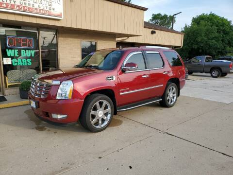 2010 Cadillac Escalade for sale at Bob Waterson Motorsports in South Elgin IL