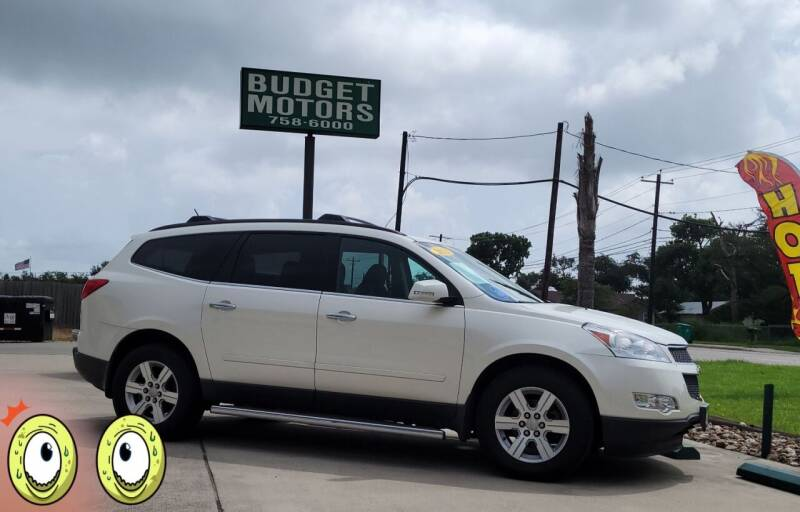 2012 Chevrolet Traverse for sale at Budget Motors in Aransas Pass TX